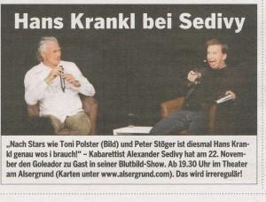 Sportzeitung November 2011