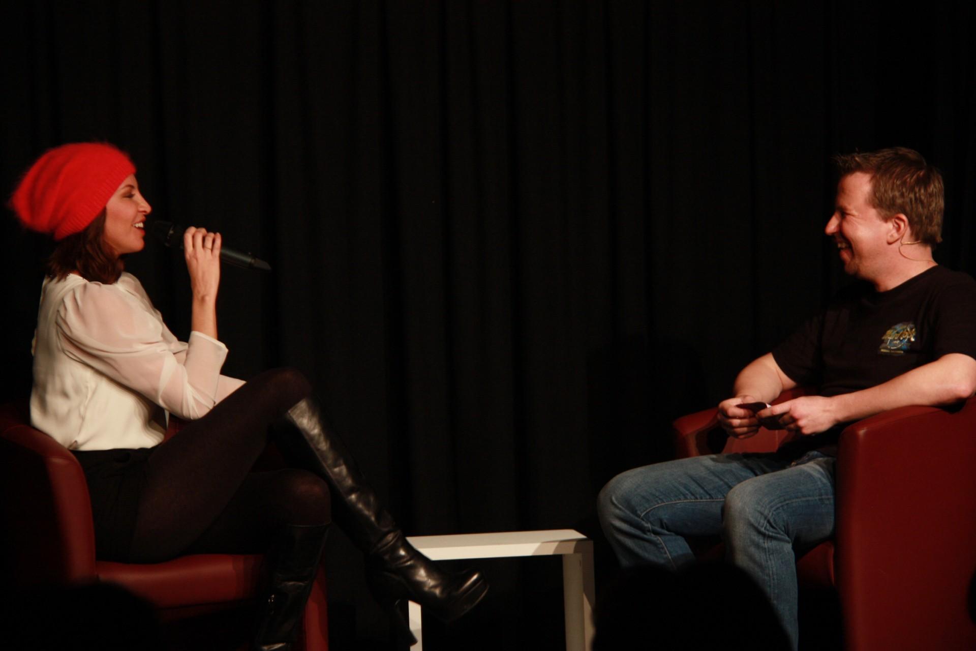 Cathy Zimmermann und Alexander Sedivy