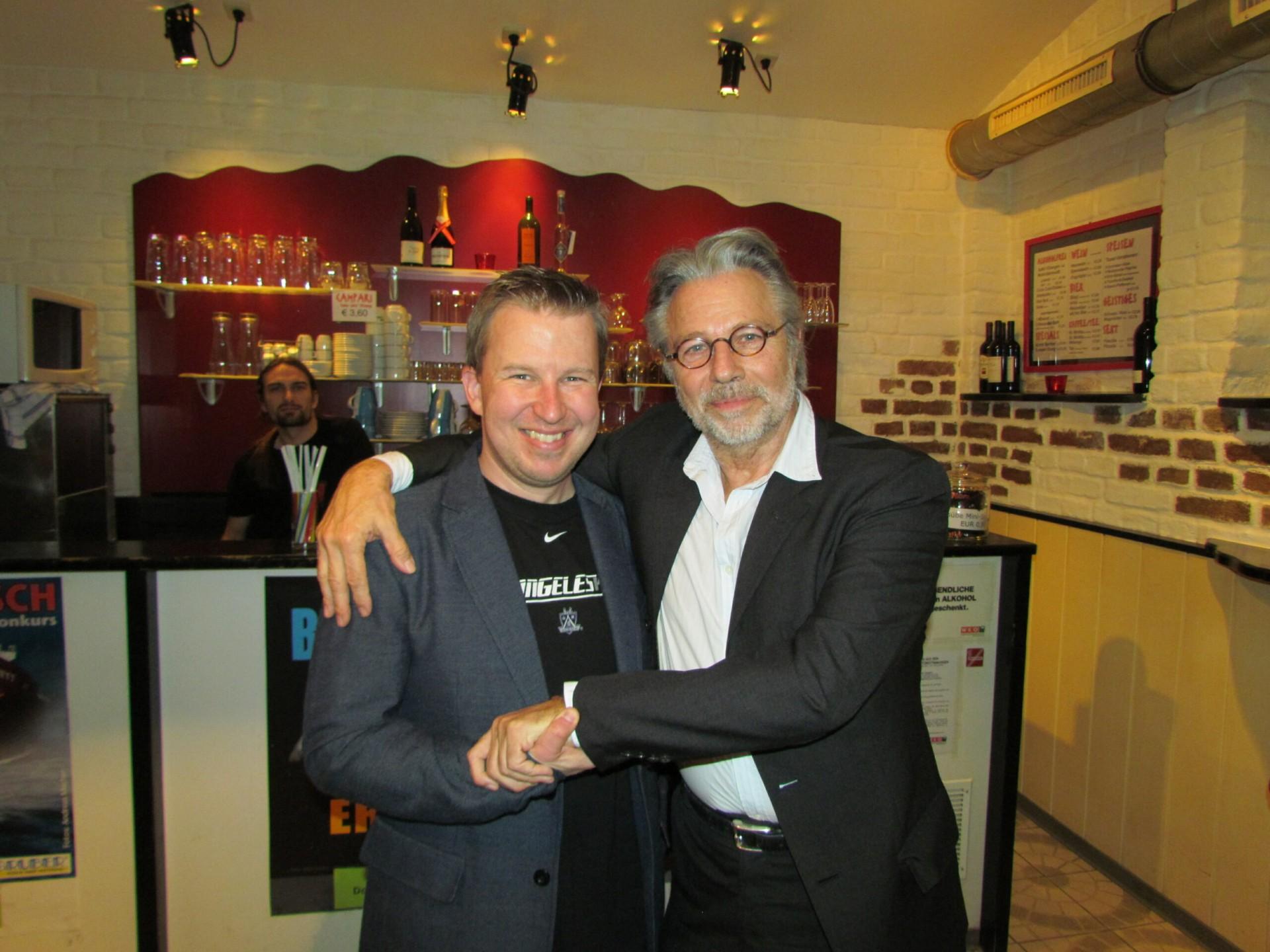 Alexander Sedivy und Stargast Adi Hirschal