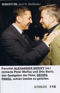 Seitenblicke Magazin Dezember 2007