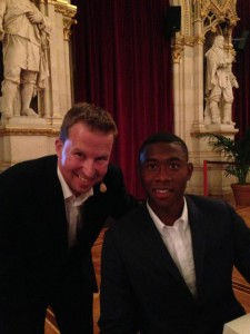 David Alaba mit A. Sedivy