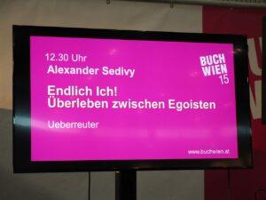 Alexander Sedivy BUCH WIEN 15