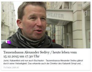 ORF Alexander Sedivy